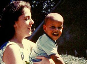The President and his Mom