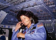 Sally Ride on the U.S.S. Challenger
